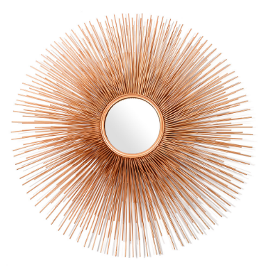 Pols Potten Prickle mirror in Gold.PNG