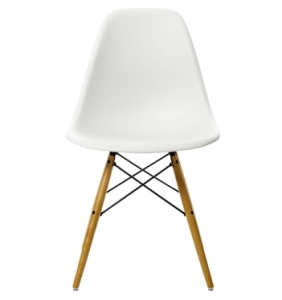 Vitra Eames DSW side chair in White. The Interior Christmas Wishlist 2015