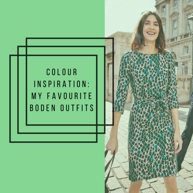 The Lusting Life - Colour Inspiration: My favourite Boden outfits