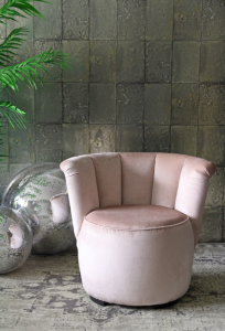My Top 5 Interior Trends I'm Loving, Pink Gallery Chair by Rockett St George