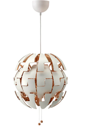 The Lusting Life, My Favourite Lighting Ideas, Ikea Pendant Lamp